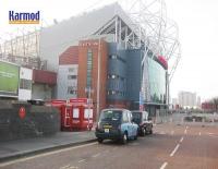 Quiosques do Reino Unido Manchester Old Trafford e Estádio Camp Nou