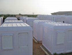 Instalação de cabines de gerenciamento modular concluídas no Senegal
