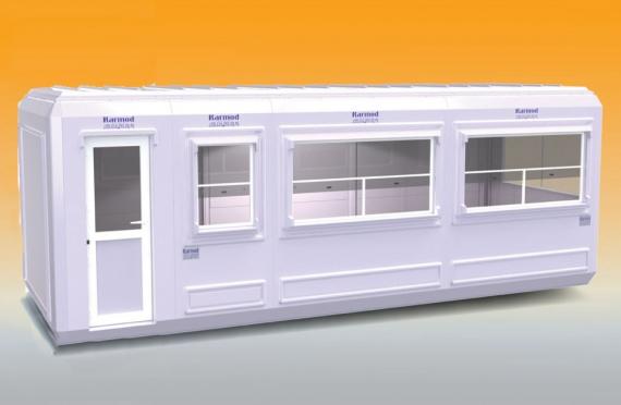 Cabine modular 270x750 cm