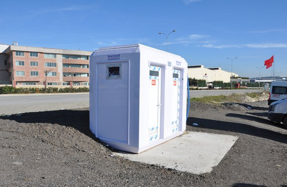 Cabine wc-banheiro portátil 150x270