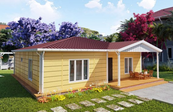 Casas Modulares 103 m2