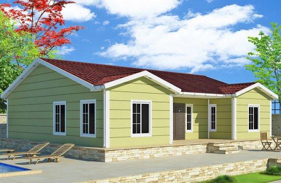 Casa préfabricada 126m²