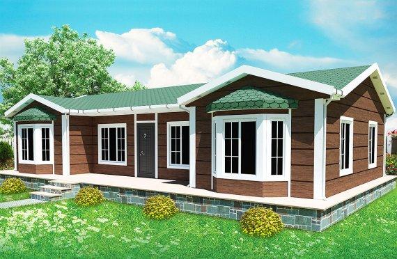 Casa préfabricada 97m²