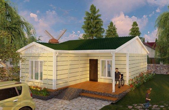 Casas Modulares 73m2