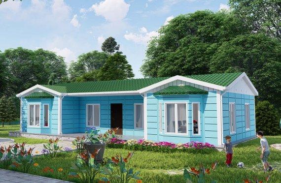 Casas Familiares Modulares de 97m2