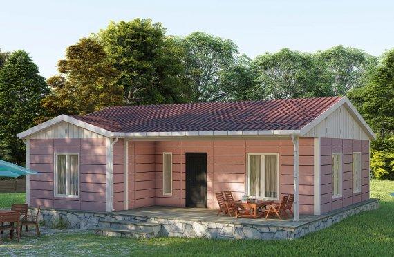 Casas Modulares 87 m2