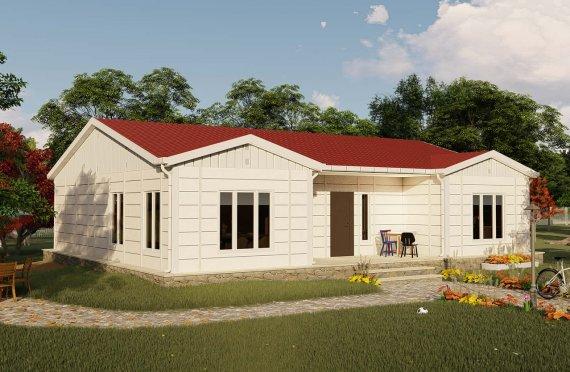 Casas Modulares 123 m2