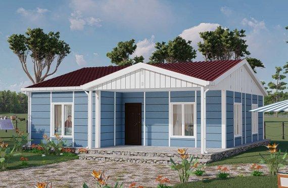 Casas Modulares 82 m2