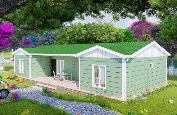Casas Modulares Geminadas de 10 2m2
