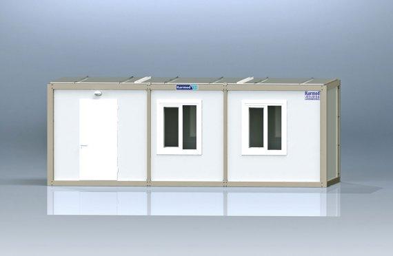 Contentor escritório flatpack k-1001