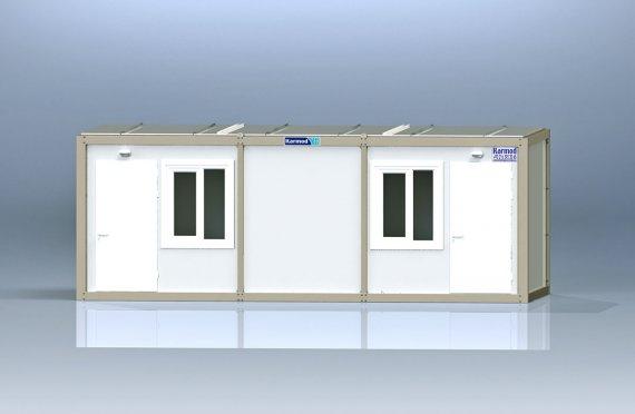 Contentor escritório flatpack k2001