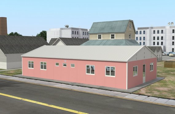 Dormitório préfabricado 148m²