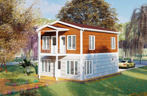 Duplex Pré-fabricado com Aspeto