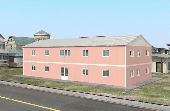 Escola préfabricada 480 m²