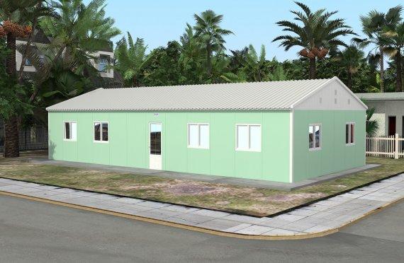 Escola préfabricada 117m²