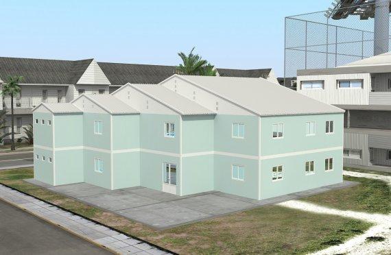 Escola préfabricada 508m²