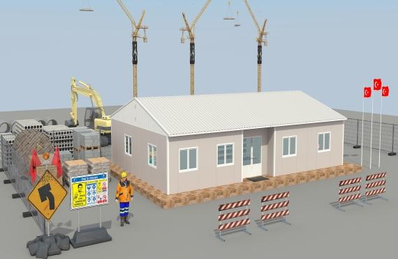Escritório modular 125m²