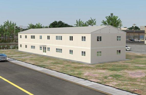 Escritório modular 558 m²