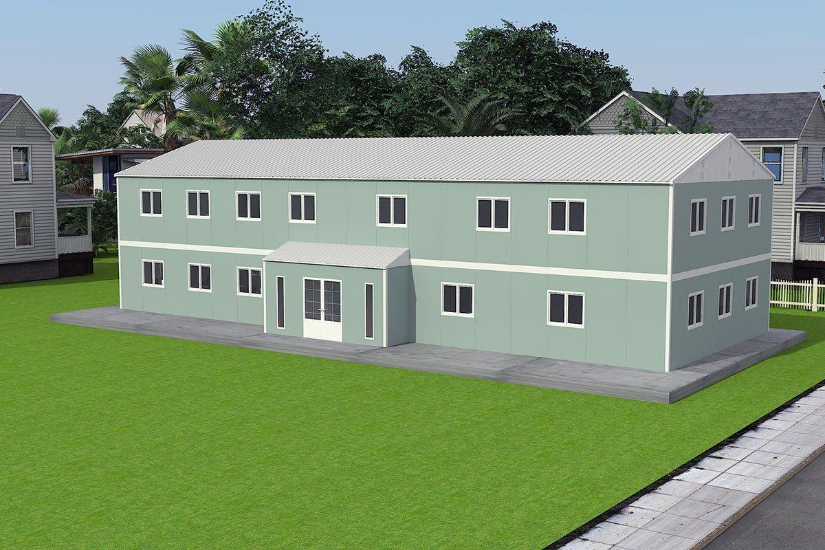 Escritórios portáteis 415 m²