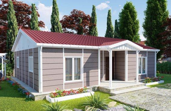 Mini-vivenda Modular de 95m2
