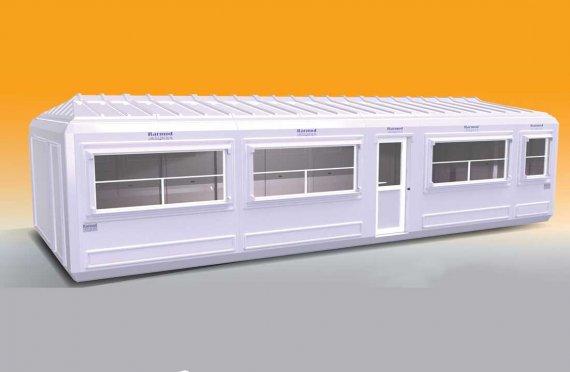 Modelo de quiosque amplo 390x390