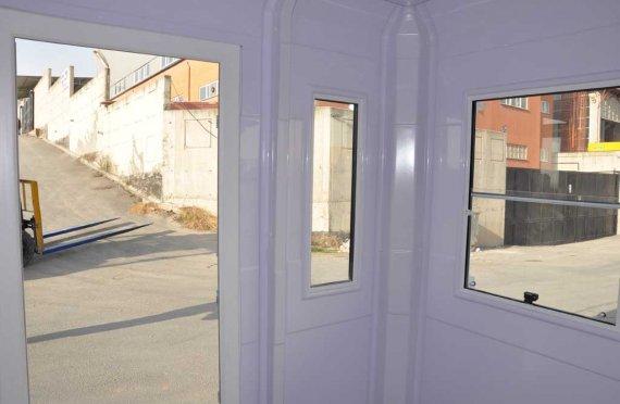 Quiosque modular 215x215cm