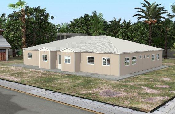Escola Pré-fabricada 289 m²