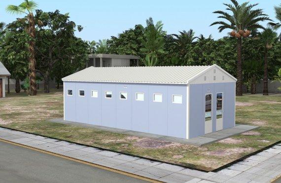 Wc & banheiro préfabricado 52m²