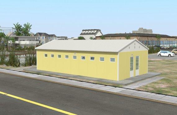 Wc-banheiro préfabricado 82m²