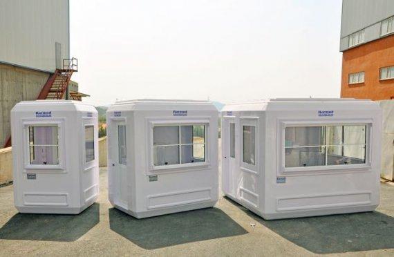 Quiosques modulares