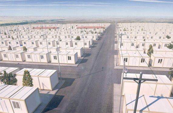 Acampamentos Temporários para Refugiados