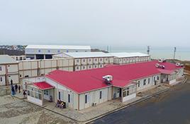 Edifícios modulares para canteiros de obras