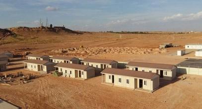 Projeto de habitacão pré-fabricada na  Argélia