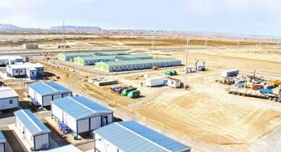 Edifícios pré-fabricados da Karmod no projeto Shahdeniz-2 no Azerbaijão