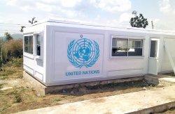Karmod instalou campos na Nigéria para as forças de paz da ONU