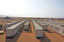 Montamos canteiros de obras para trabalhadores de minas de ouro na Guiné