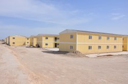 Karmod construiu uma cidade pré-fabricada para 10.000 pessoas em apenas 7 meses