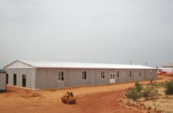 canteiro de obra pré-fabricado para minas no Senegal