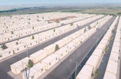 Projeto de habitação em contentores  para refugiados sírios