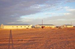 Complexo de canteiro de obras pré-fabricado na Argélia