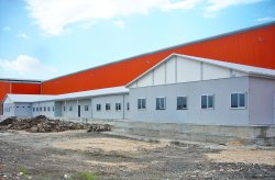 Foi concluído o projeto de canteiro de obra pré-fabricado para a empresa Ufuk Boru