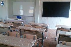 Projeto de escola móvel na Nigéria