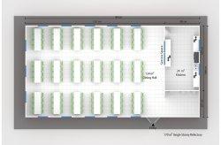 Planos de Salas de Jantar Pré-Fabricadas