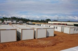 Container City Refugee Camp